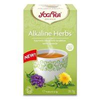 ceai plante alcaline